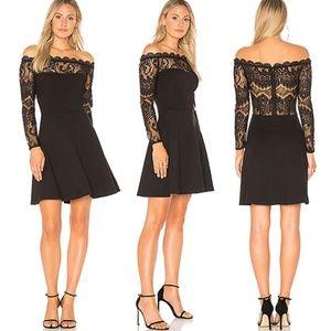 BB Dakota Revolve Dennett Lace Dress in Black 4